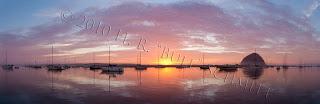 Sunset. 7 shot stitched pano.