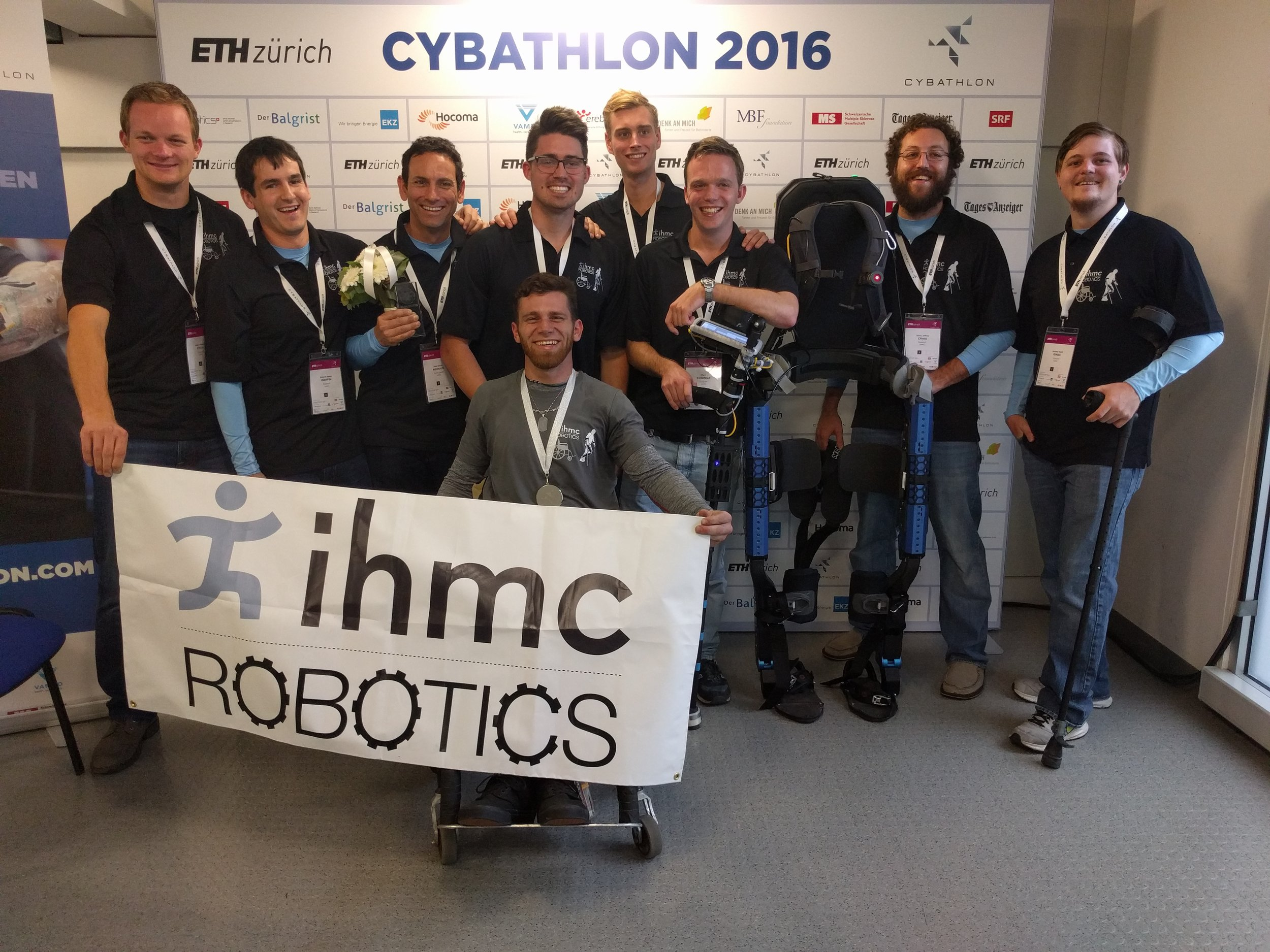 IHMC Robotics gets Silver Medal in Cybathlon