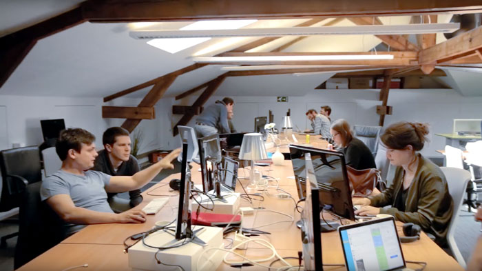 Data Camp group in Belgium Offices