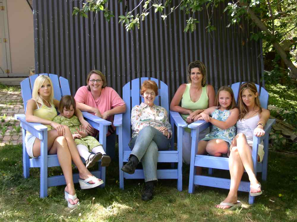 Blue Chair Day with some of my family