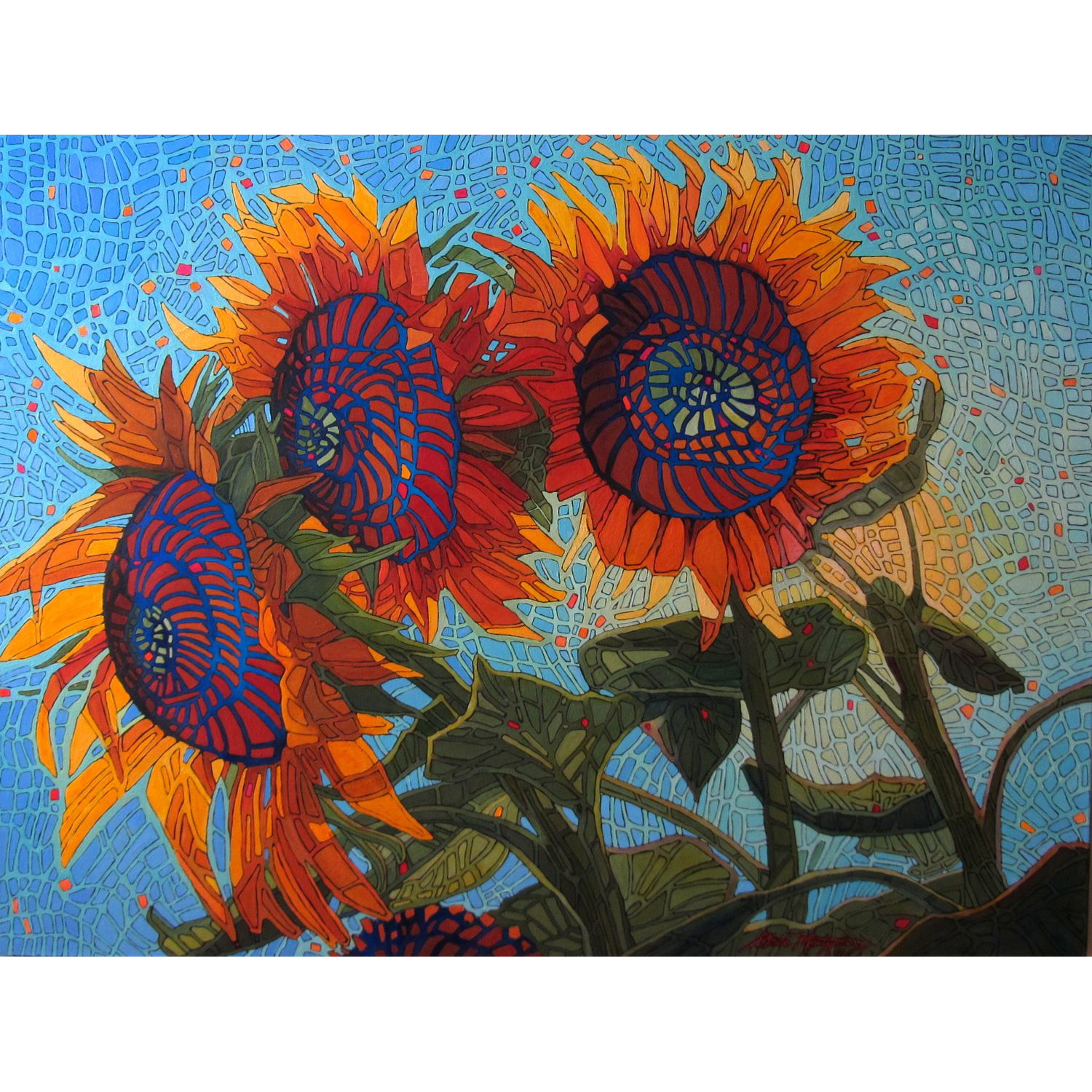 Shelley's Sunflowers