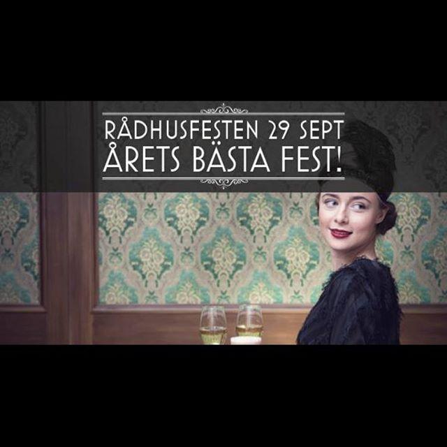 Nu är biljetterna släppta till årets största fest i Umeå på Rex där vi med flera spännande företag kommer ställa ut och bidra med olika pop-ups! Kolla in för mer information på FB och Jippo Eventbyrå