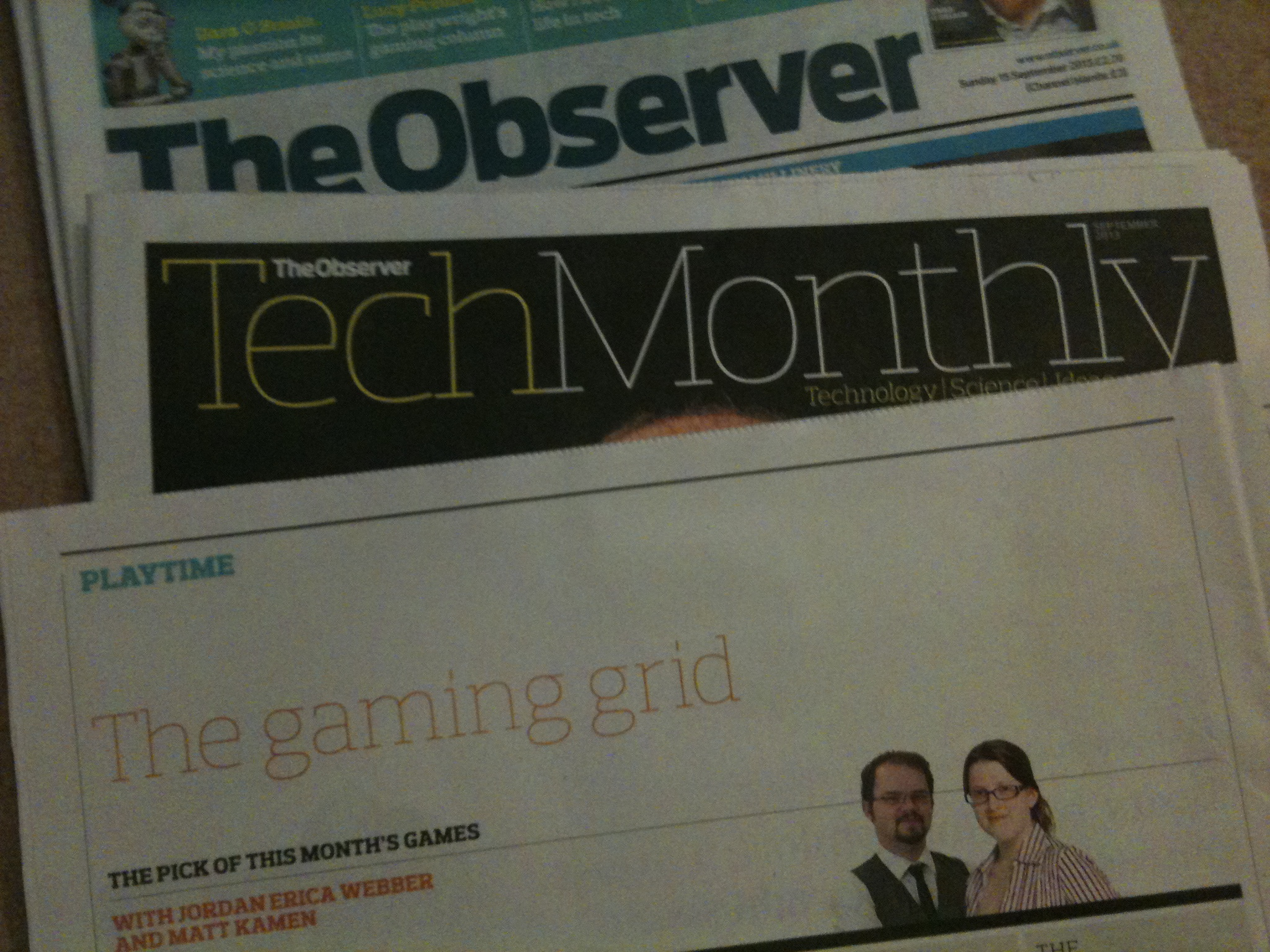 2013-09-15 The Observer Tech Monthly Issue 1.jpg