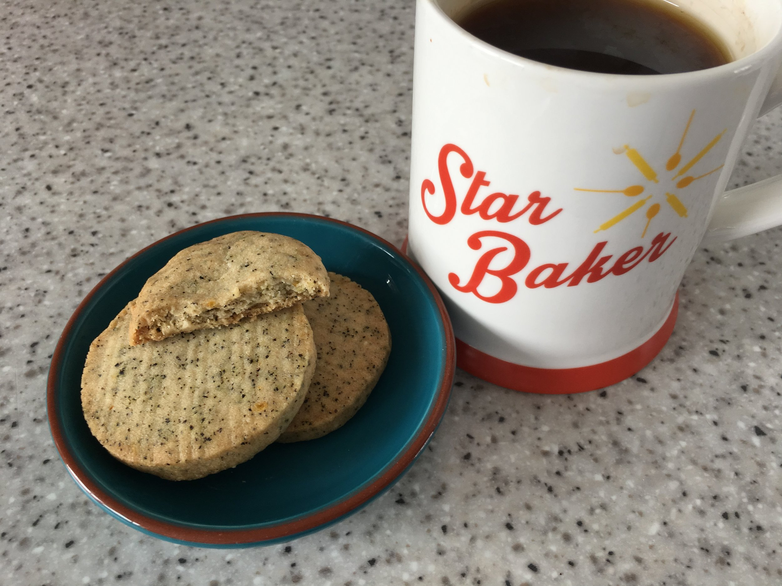 Earl Grey biscuits