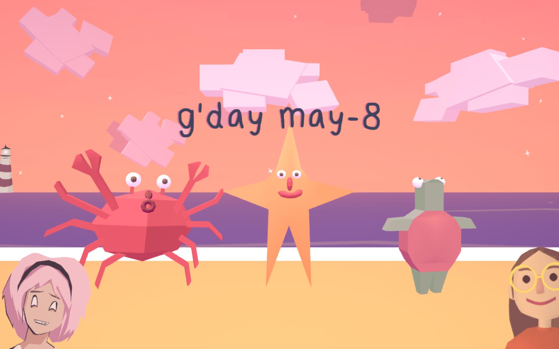 May 8 Meditation ( Izzy Gramp ,  Grace Bruxner )