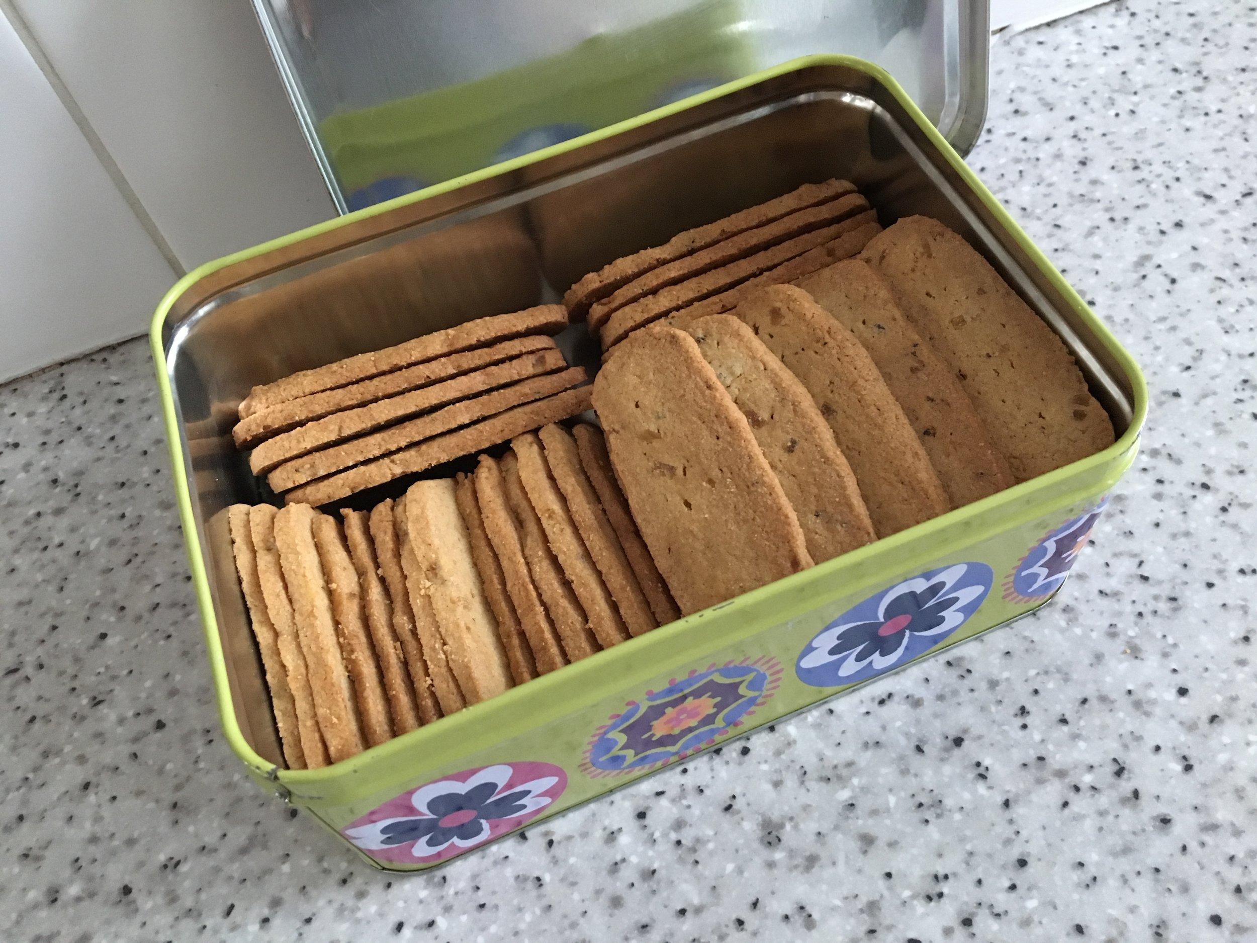 Cardamom ginger snaps