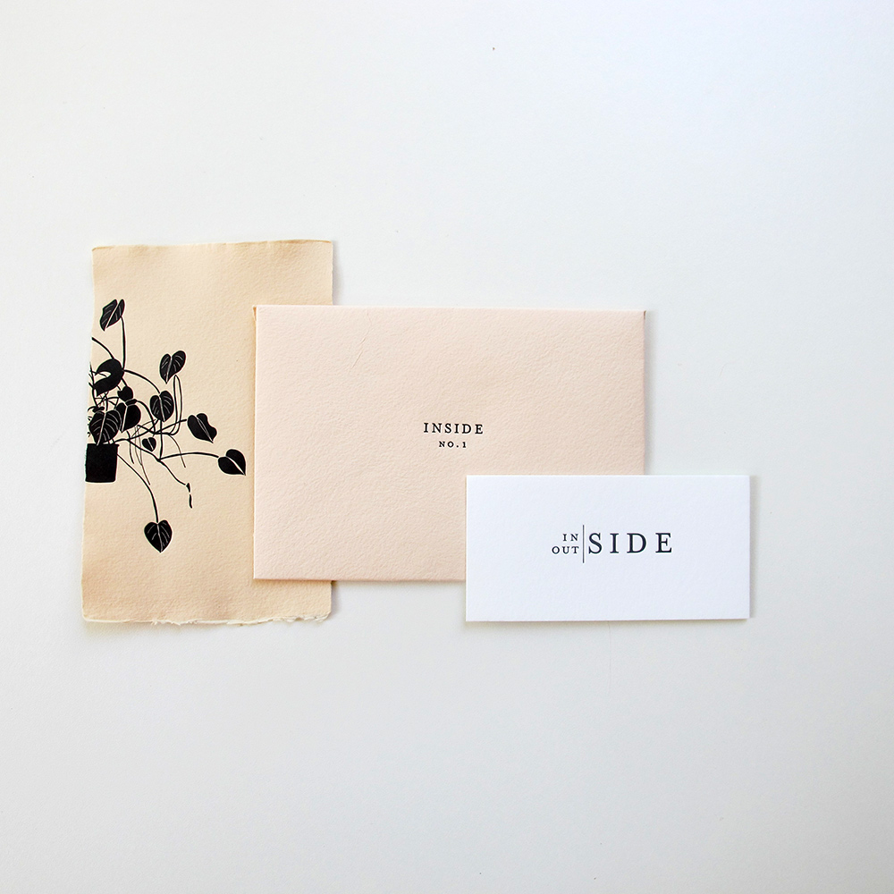 JUST RELEASED! Inside Outside: a new print collection on handmade paper