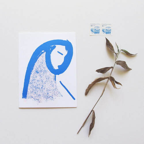 La Vielle Dame Card, designed by Gaëlle Boling