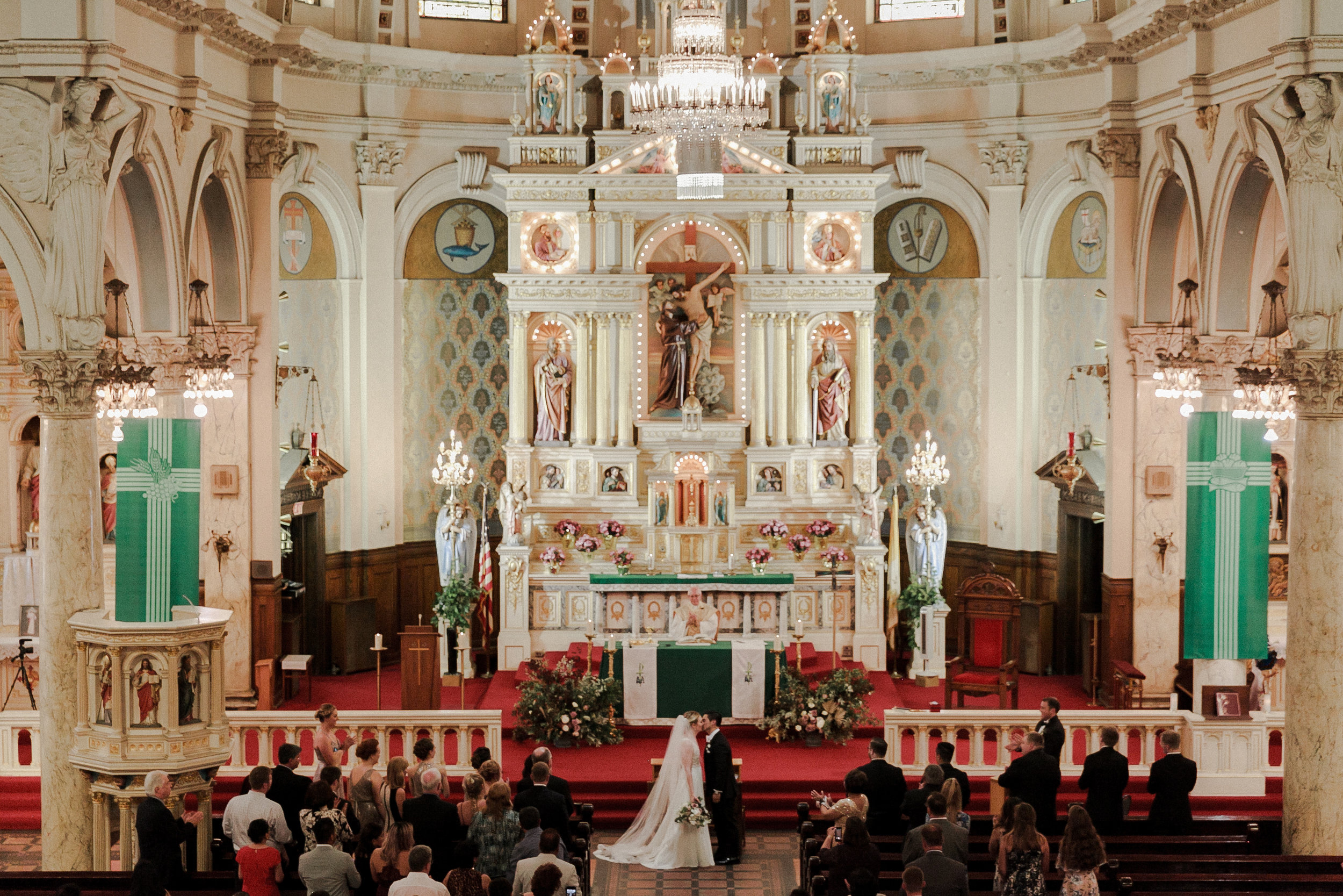 St. Francis D'assisi Wedding