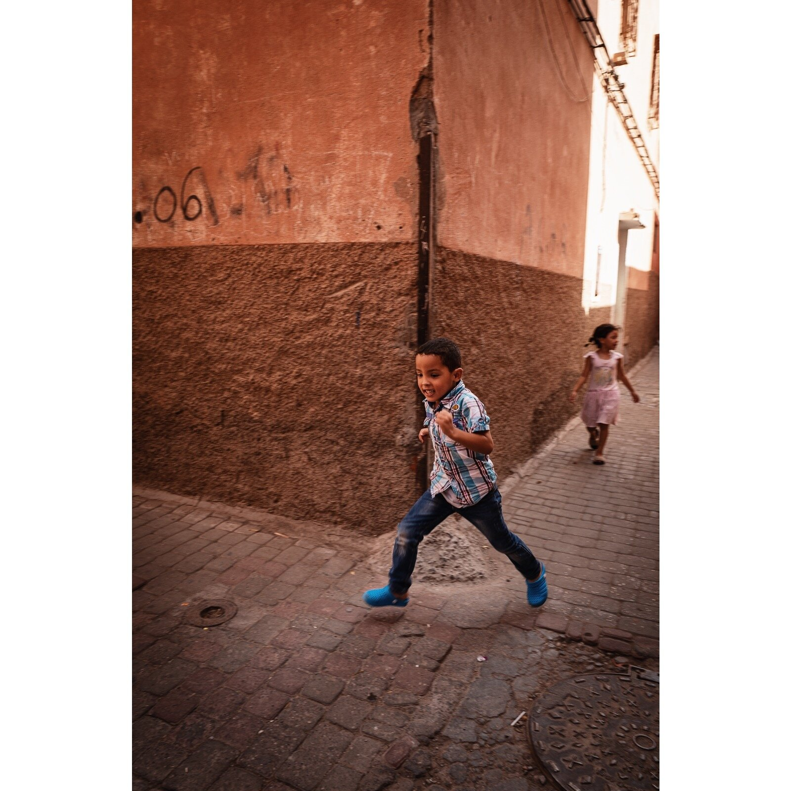 Street life in Marrakech, 2019