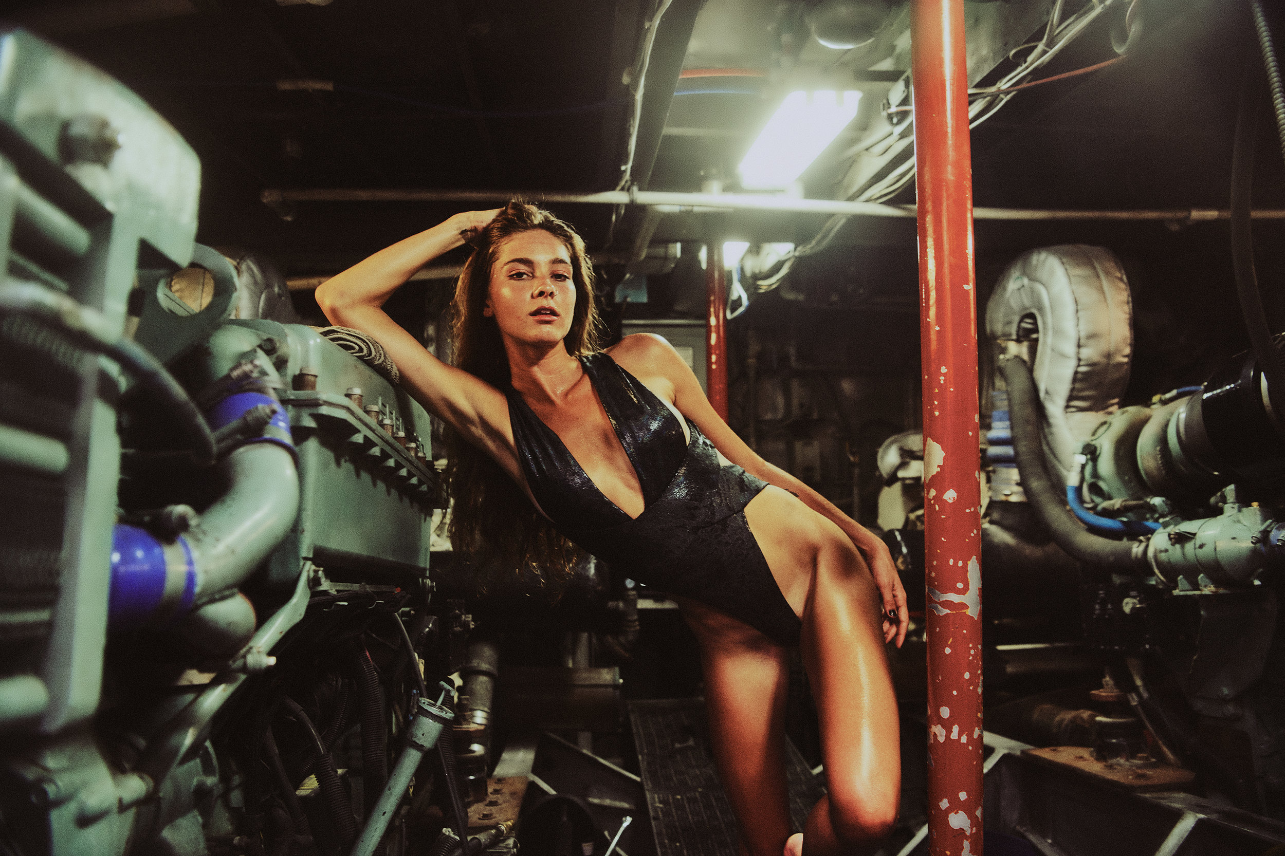 Mary in the Engine Room