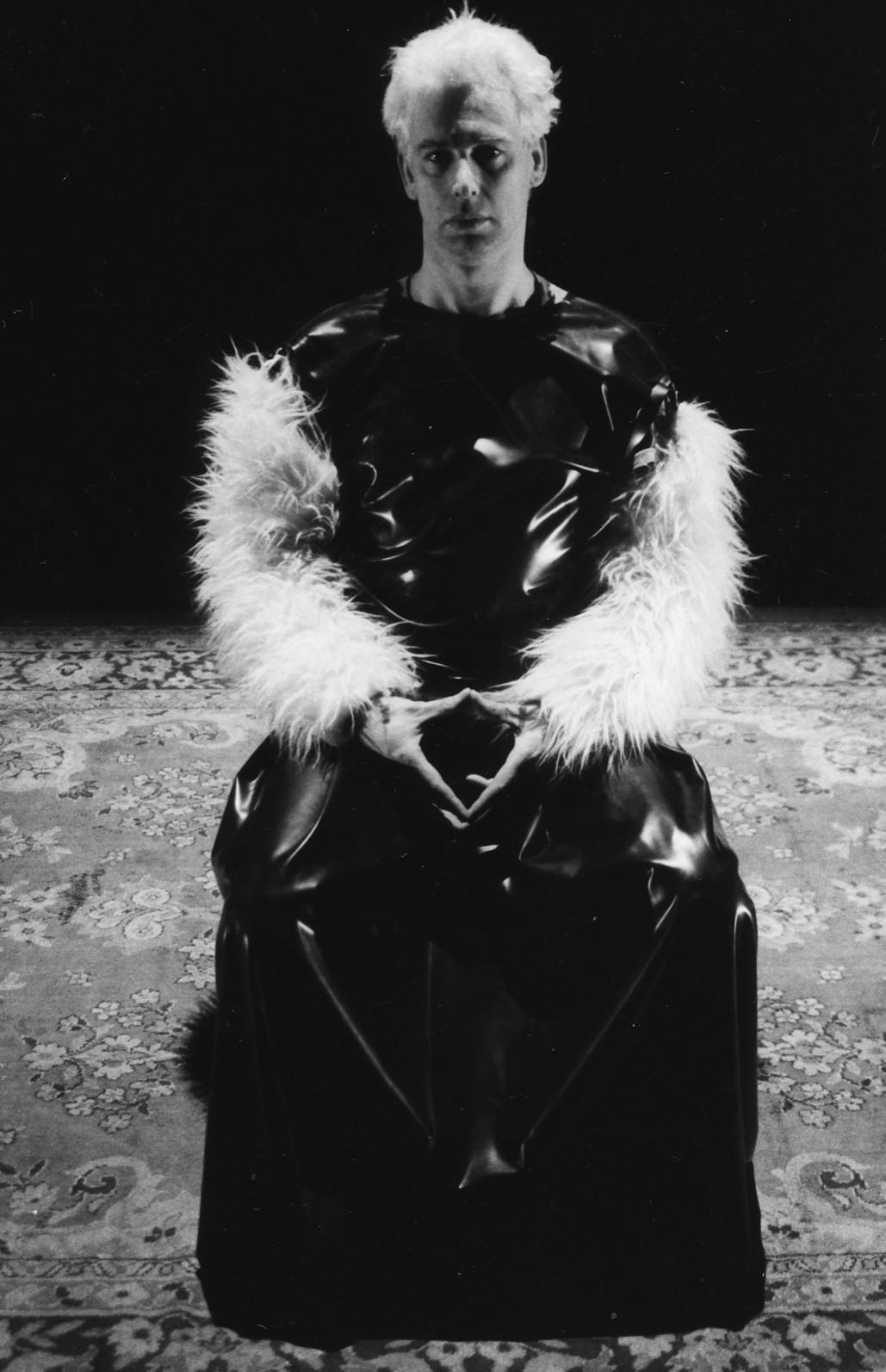 C harlie Meyrick in costume designed by Andrew Barker for Vessel.