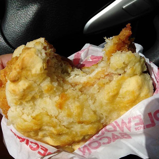 Wendy's honey chicken breakfast biscuit 🔥🔥🔥🔥🔥#wendys