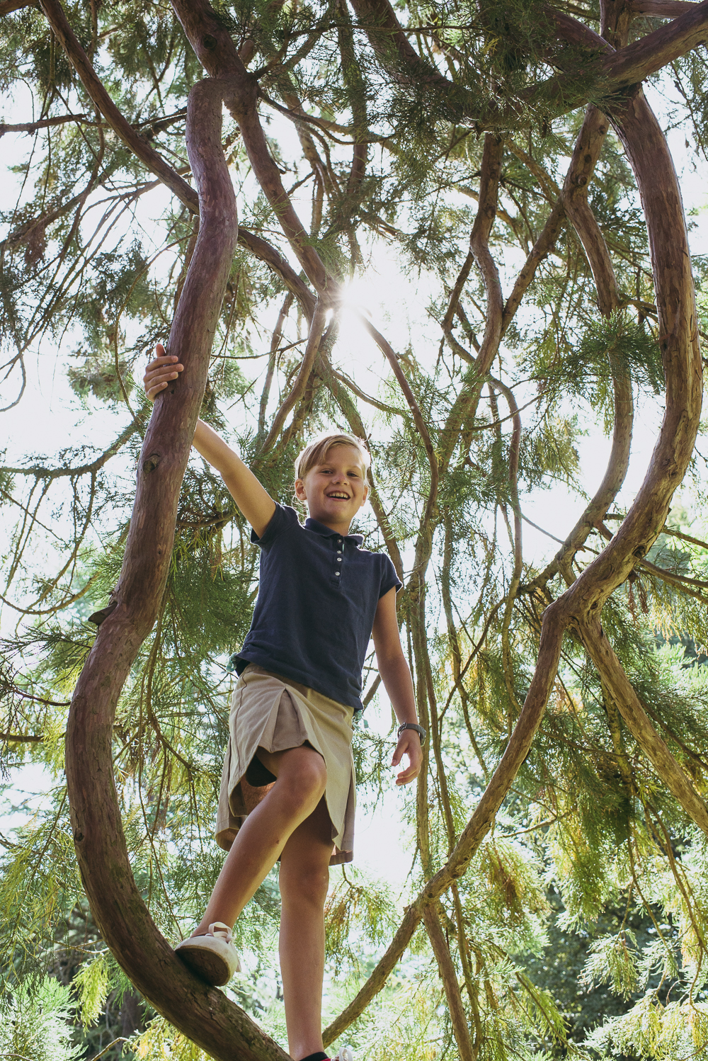Girl climbing a tree = awesome girl power. Love it!