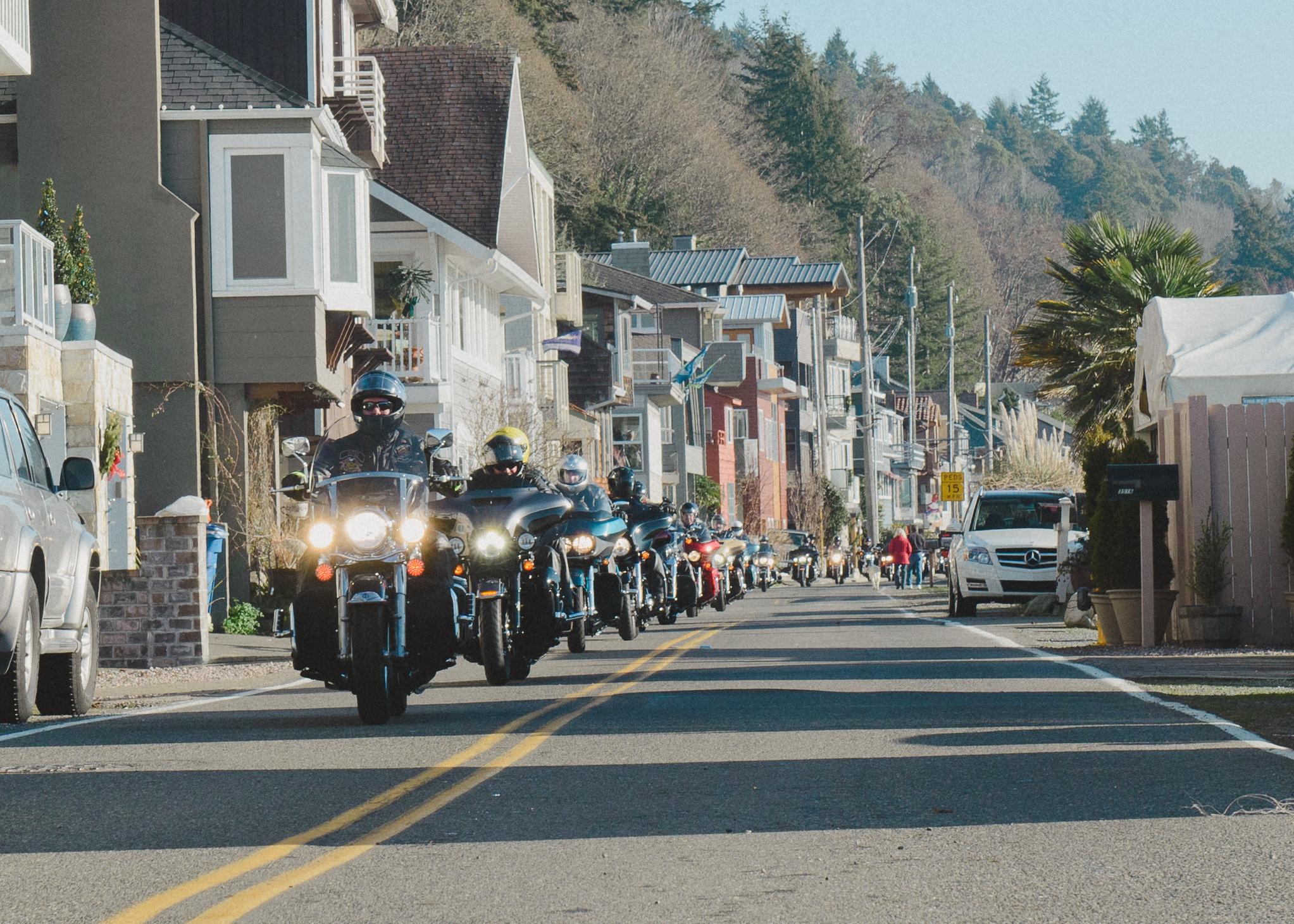 The annual hog ride.