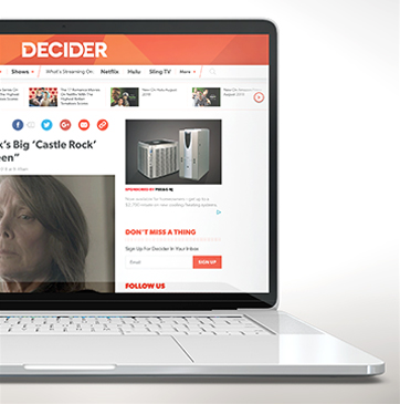 Decider Website