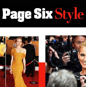 Page Six Style Identity I Website