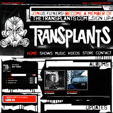 The Tranplants Website