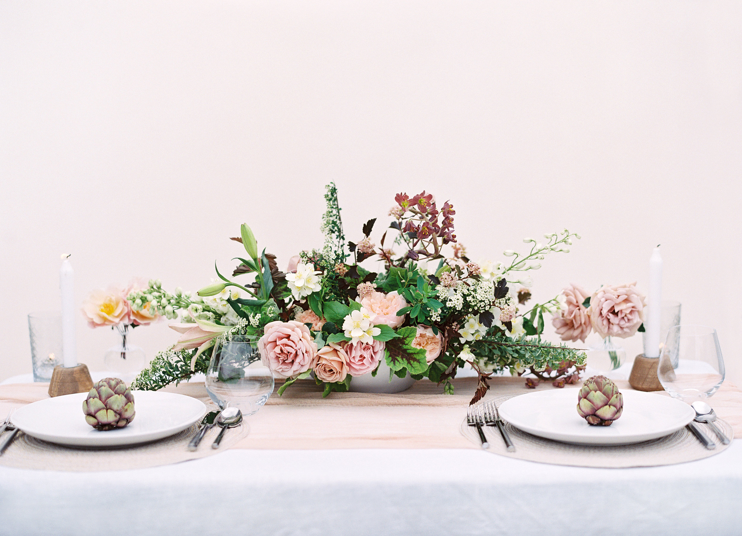 Photo by Christine Doneé Floral by Ellamah Modern Rustic Tablescape_3.jpg