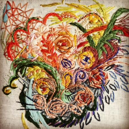 Bouquet , work in progress