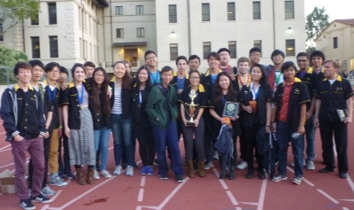 NoHo took First Place at the 2016 LA County Science Olympiad by winning medals in 16 out of 23 events in a field of 40 top schools.