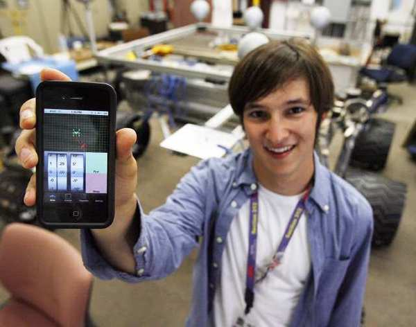 This summer was Avron's third at JPL. He started after his junior year at North Hollywood High School, and is now entering his sophomore year at Purdue University, where he studies electrical engineering.  Avron (Class of '09) was a member of NoHo's FIRST Robotics team.