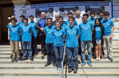 THREE NoHo CyberPatriot teams went to National Championships in 2017 and 2018.