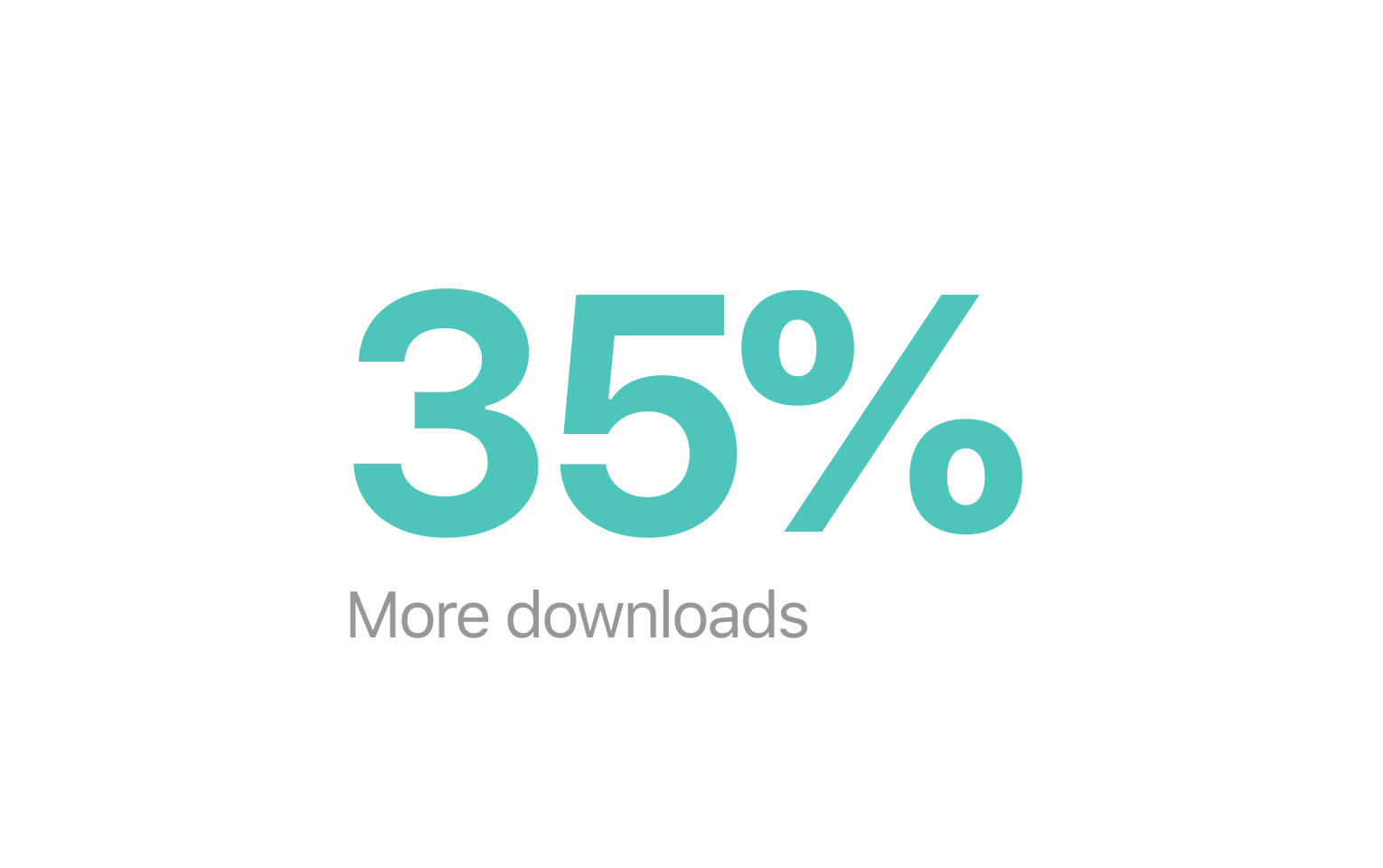 More downloads - A great first impression in the App Store and Google Play Store can increase app downloads by as much as 35%. We provide beautiful, done-for-you App Store screenshots that create more impact, save time, and eliminate costly mistakes.