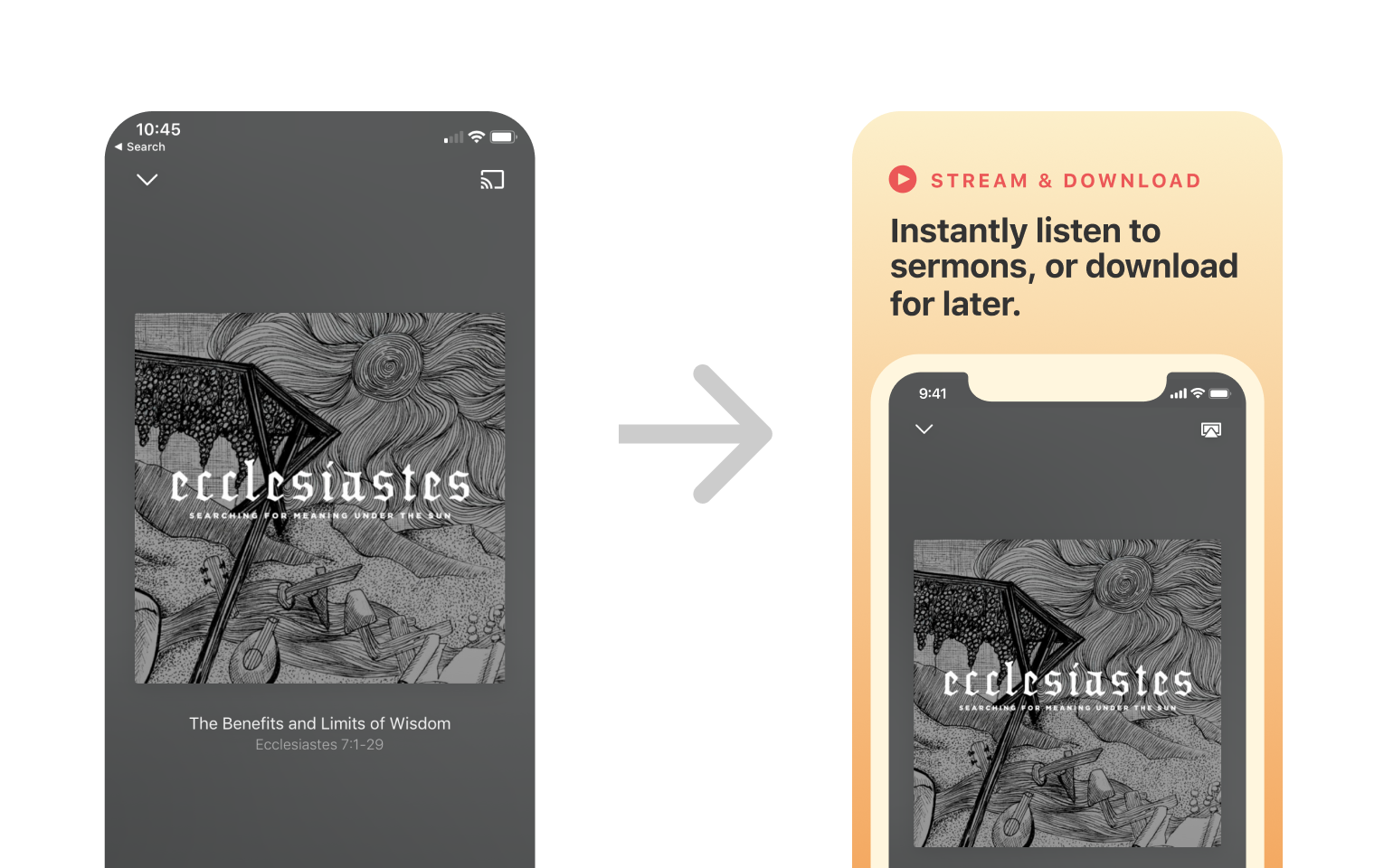 More impact - According to research, after your app reviews, screenshots are the first thing visitors look at. Create more impact with custom, beautifully designed App Store images.