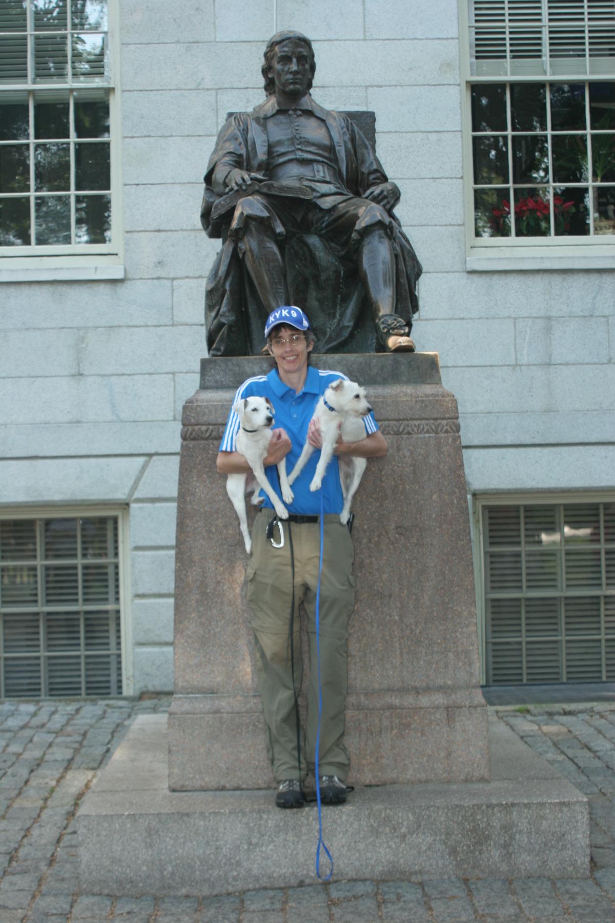 Statue of John Harvard, Harvard Yard Cambridge, MA