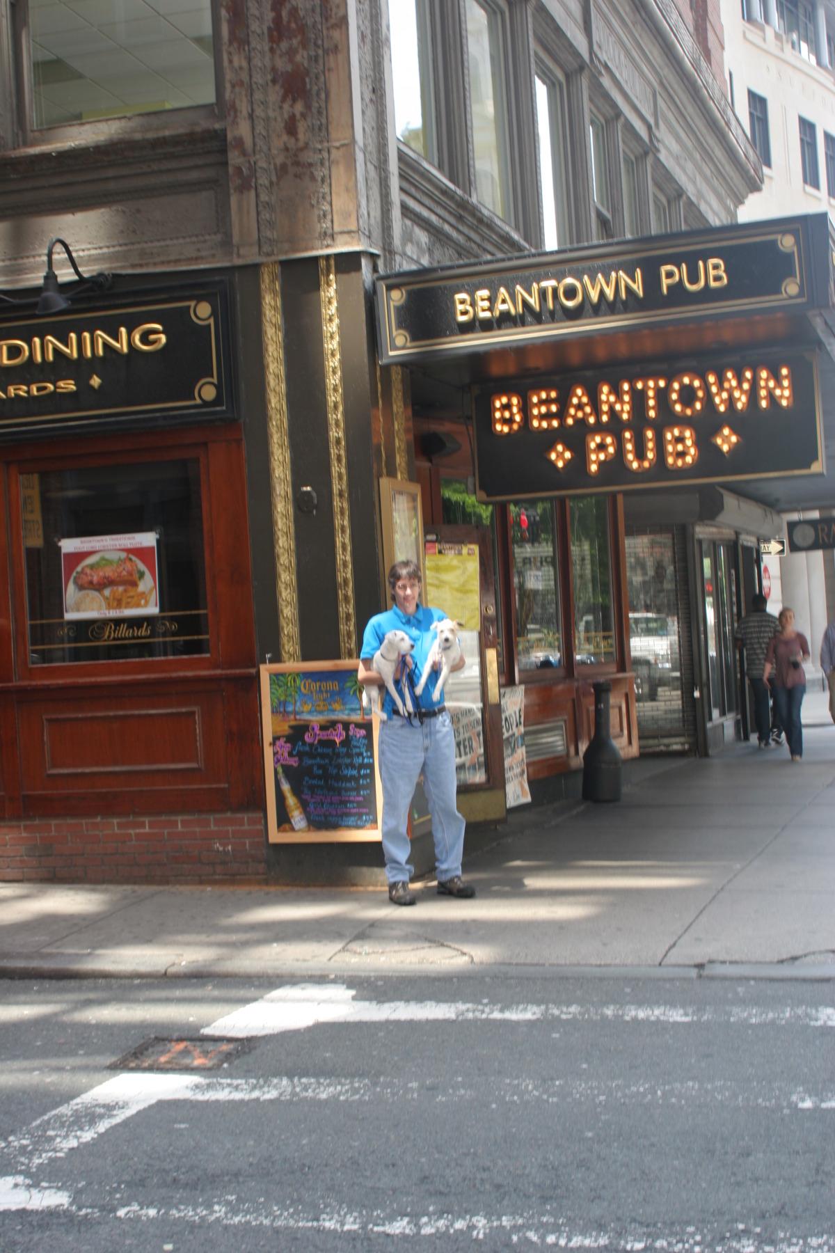 Downtown Boston near hotel Nine Zero