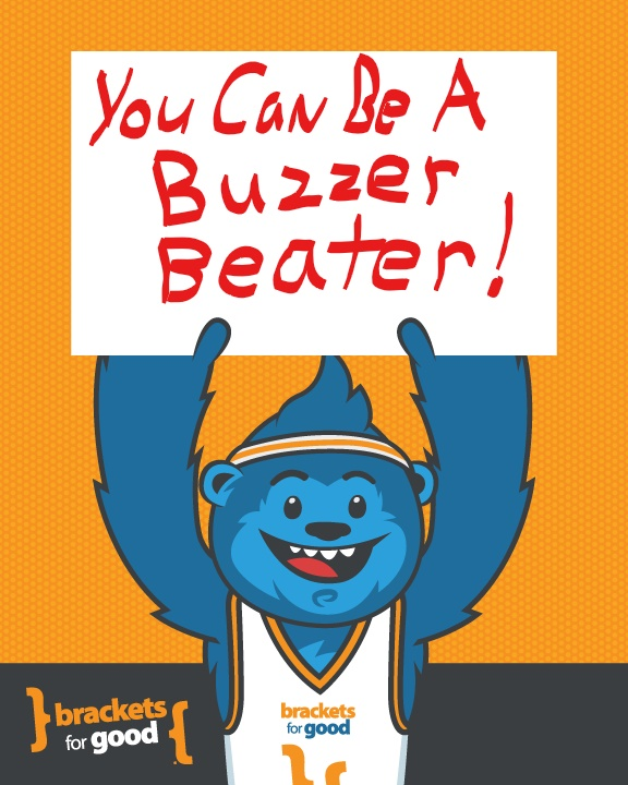 Donate now and at the buzzer. No matter who leads or by how much, buzzer beaters are true game changers. Click here to learn how to be a buzzer beater.