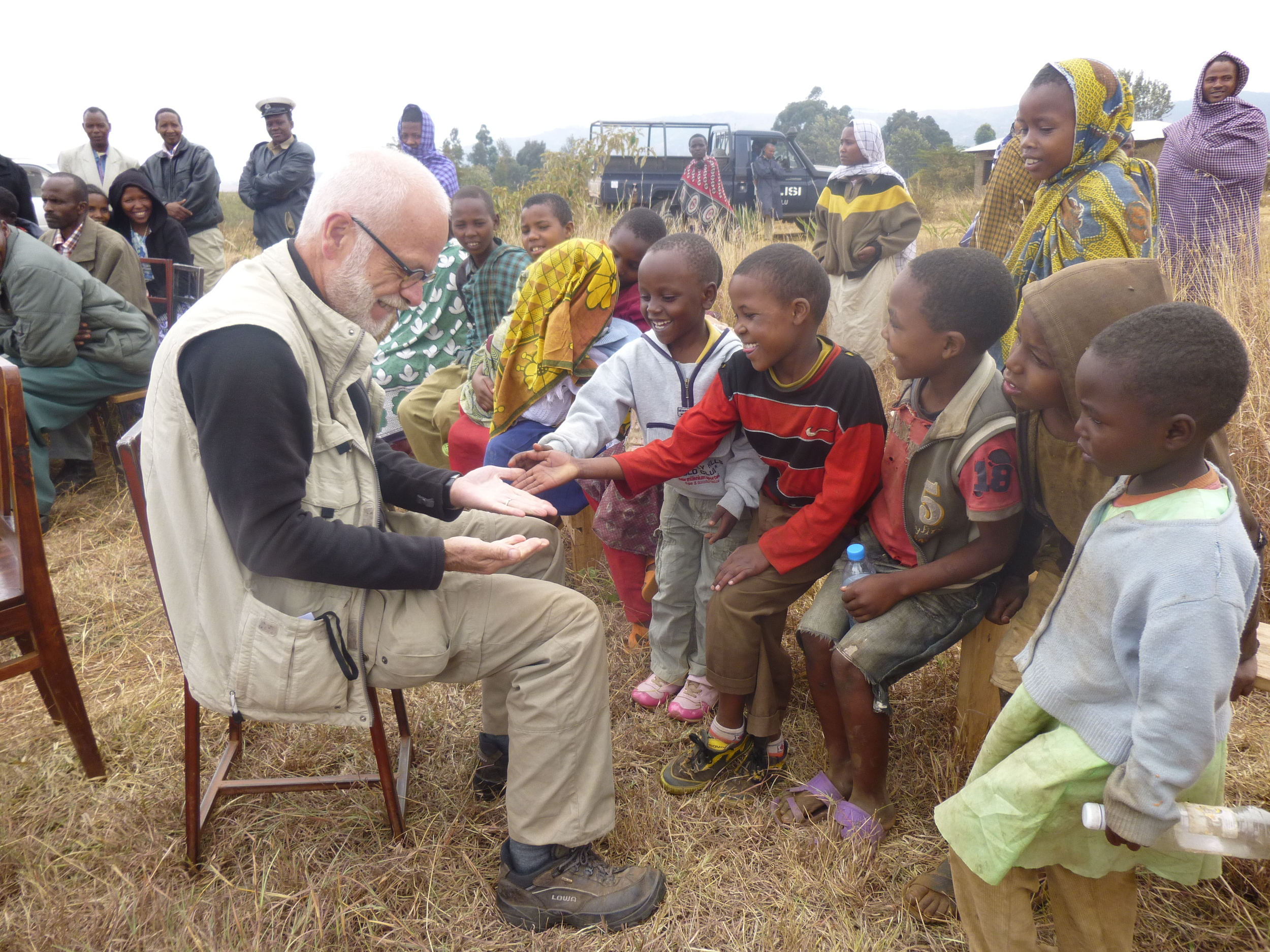 Empty hands! With CARE in Tanzania September 2012
