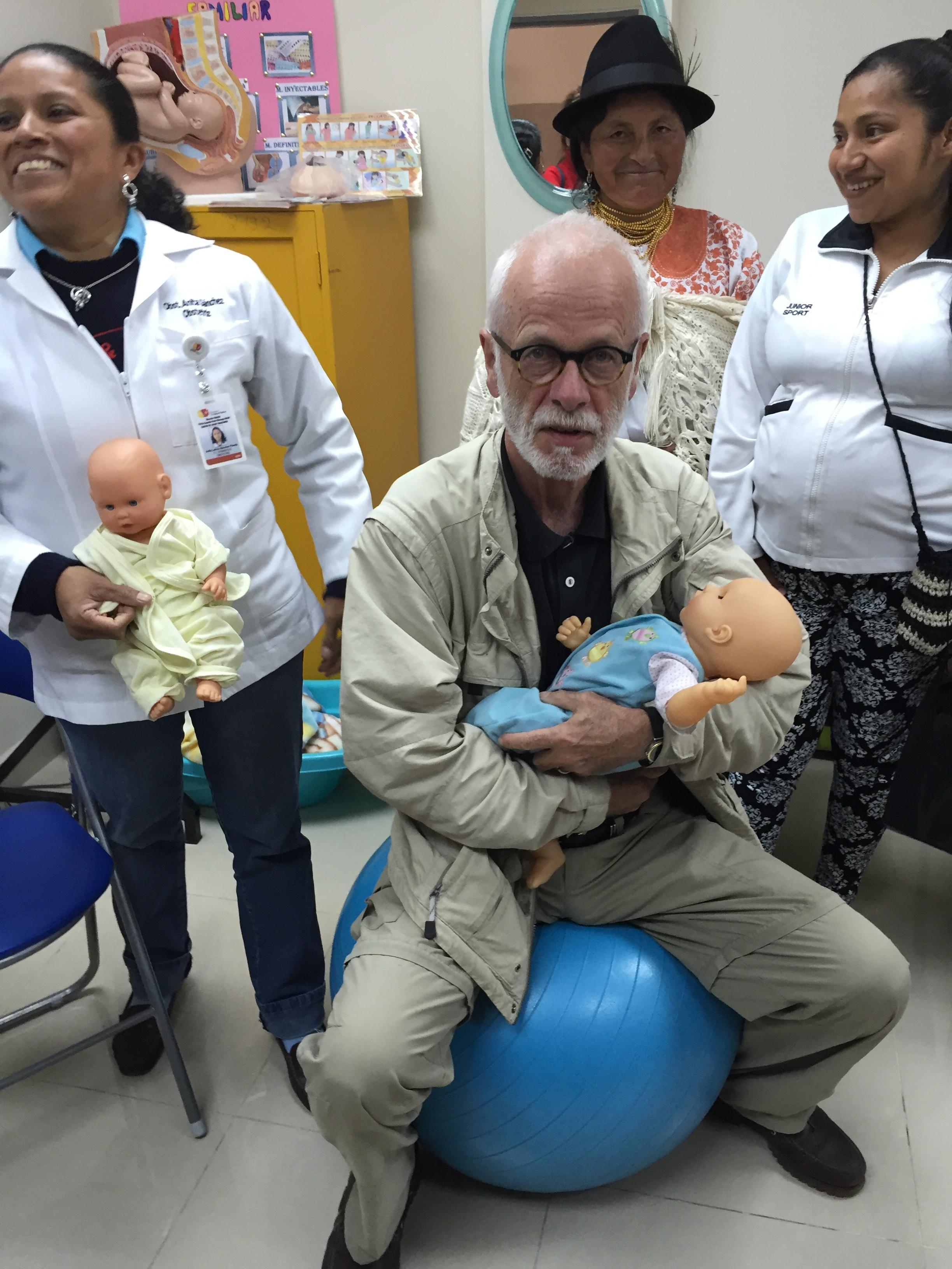 Med CARE på en fødeklinik i det nordlige Ecuador, november 2015