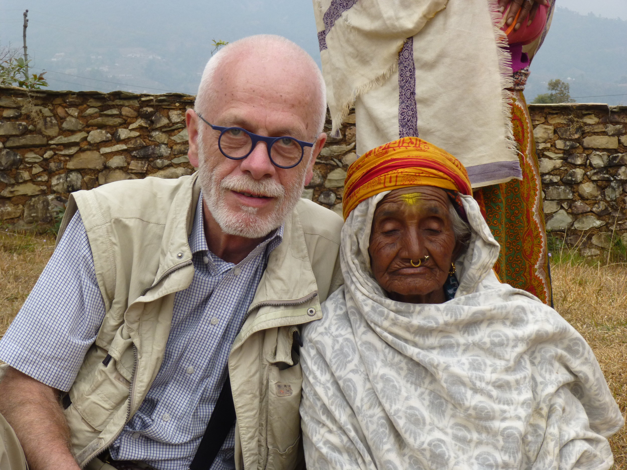 With CARE in Nepal, March 2017
