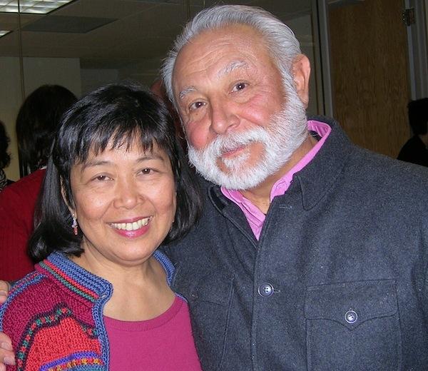 Cora Tellez and her husband Pablo