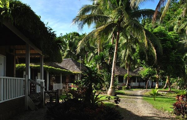 Duplex cabanas at Marabut Extreme Resort  (Photo by Bernard L. Supetran)