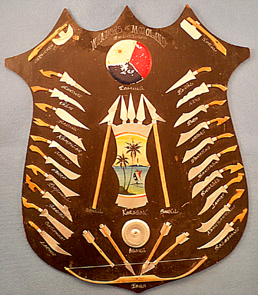 WWII Weapons of Moroland Shield  (Source:  ebay.com )