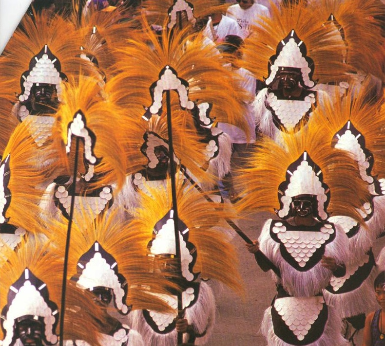 The Ati-atihan Festival of Aklan, third Sunday of January  (Photo courtesy of the Philippine Department of Tourism)