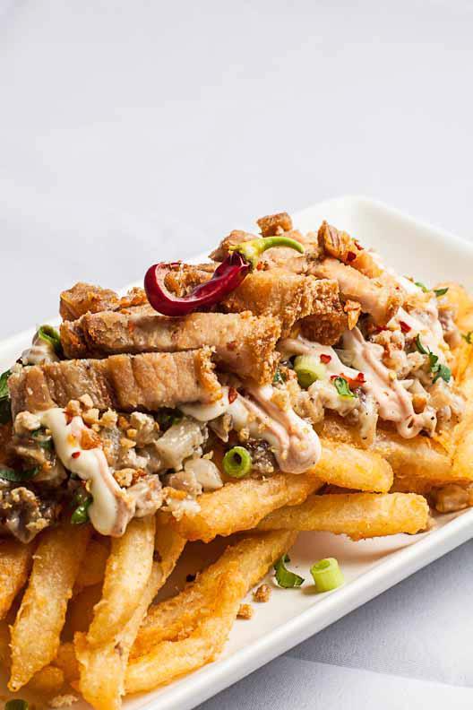 Kanto's Sisig Fries  (Photo courtesy of Kanto)