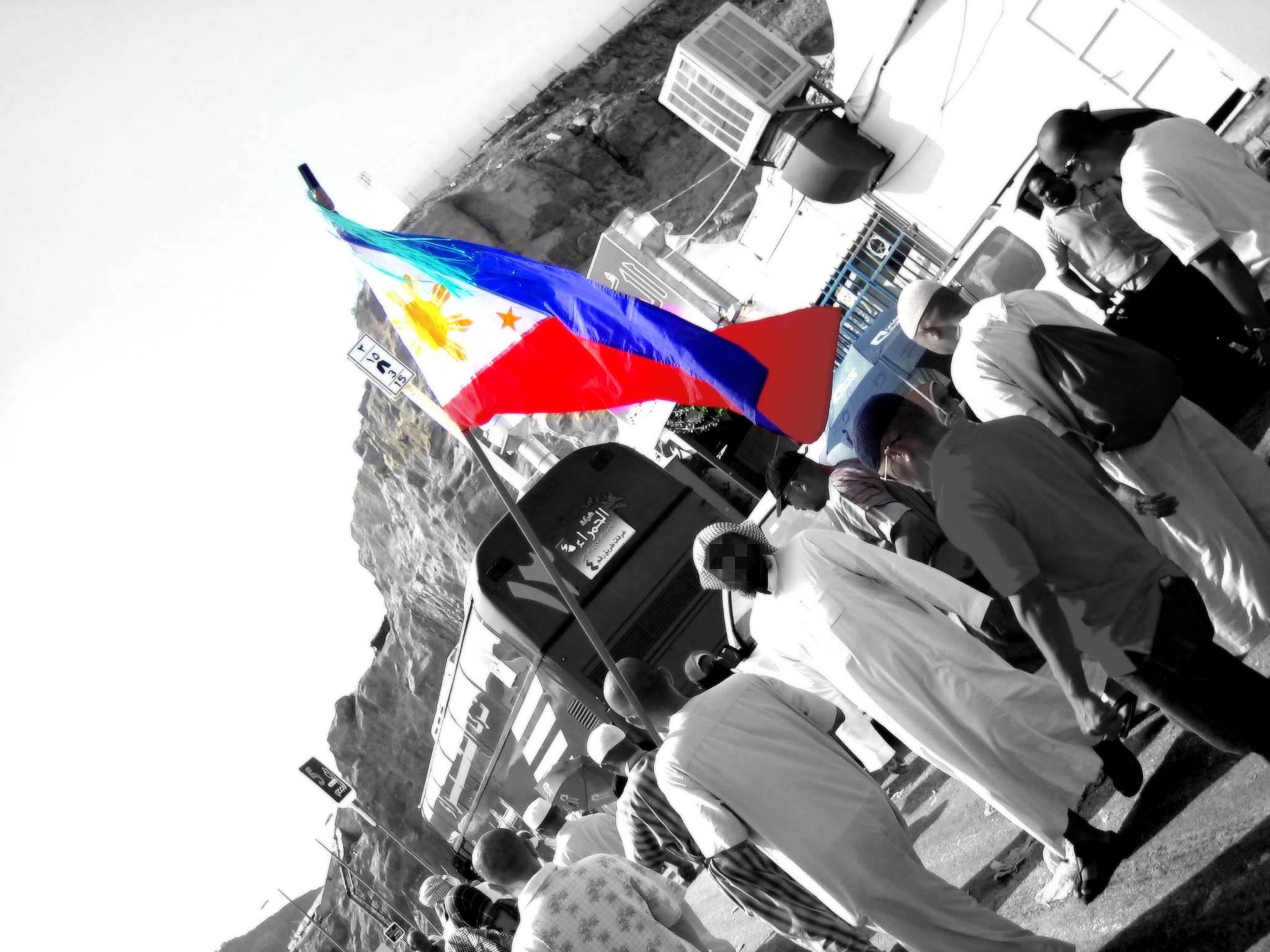 Filipinos join the Hajj in Saudi Arabia.  (Photo by Rommel S. Bautista)