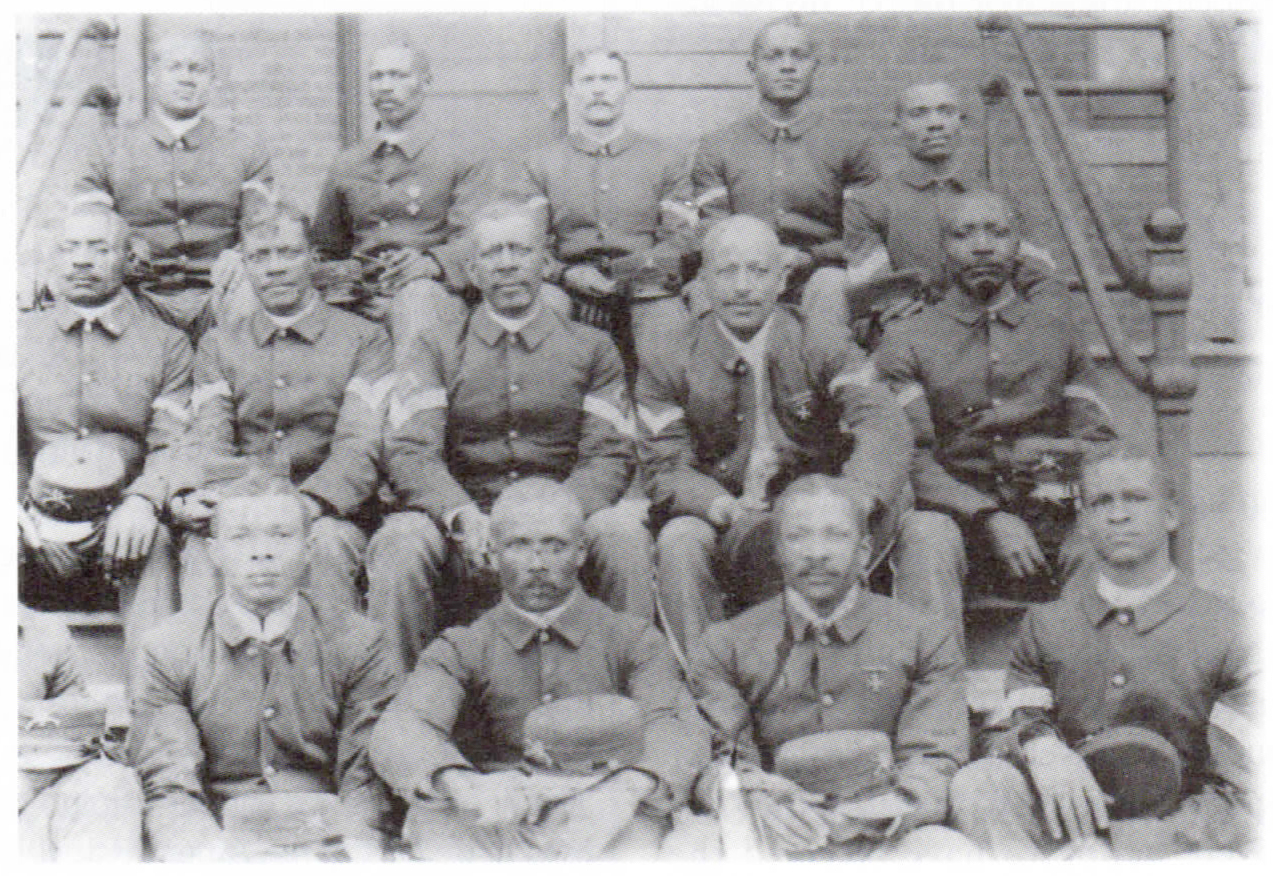 Reinforcements: When Filipinos shifted to guerilla tactics, additional U.S. troops, including black soldiers were sent to the Philippines.  (Source: the Anthony Powell Collection)