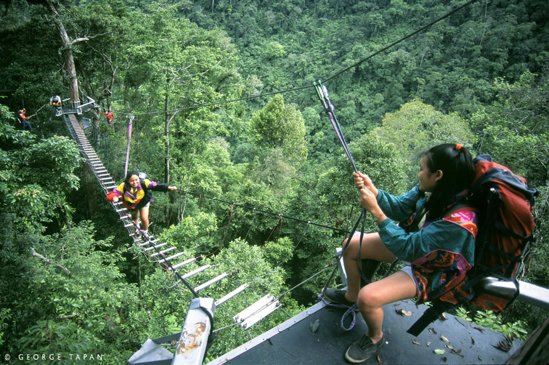 The Dahilayan Adventure Park in Cagayan De Oro