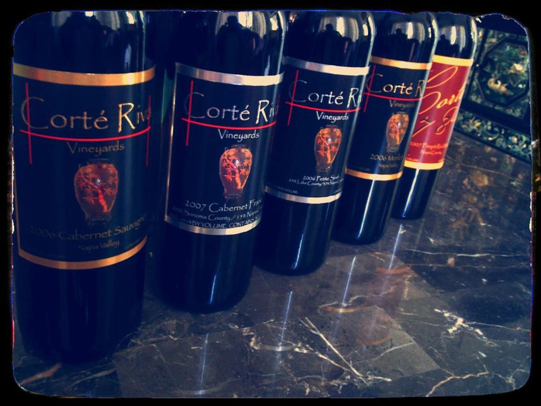 The winery's brands–Corte Riva and Cortez 78  (Source:  facebook.com/corteriva )