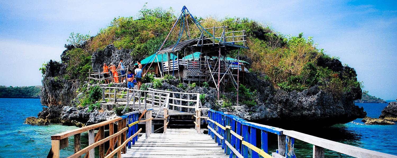 Hundred Islands, Pangasinan-Quezon Island Bridge