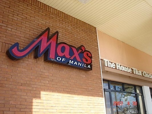 Max's of Manila  (Photo by Chie F. at yelp.com)