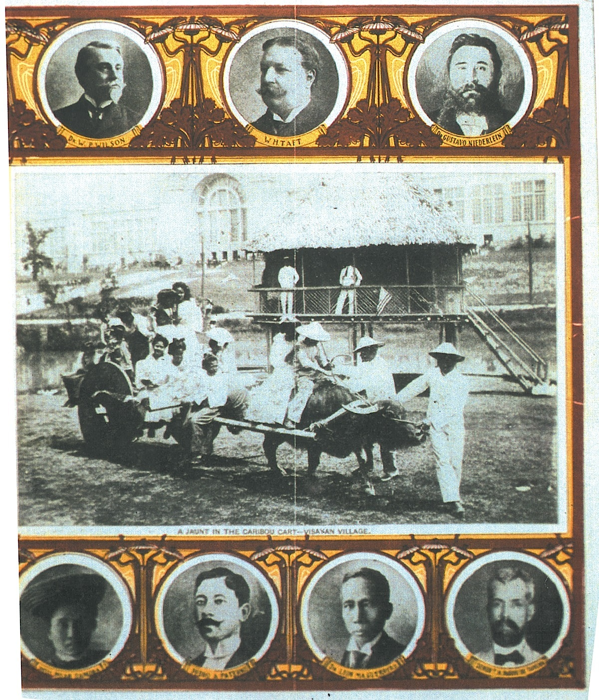 Brochure of the Philippine Exposition  (Photo courtesy of the Jonathan Best and John Silva Collection)