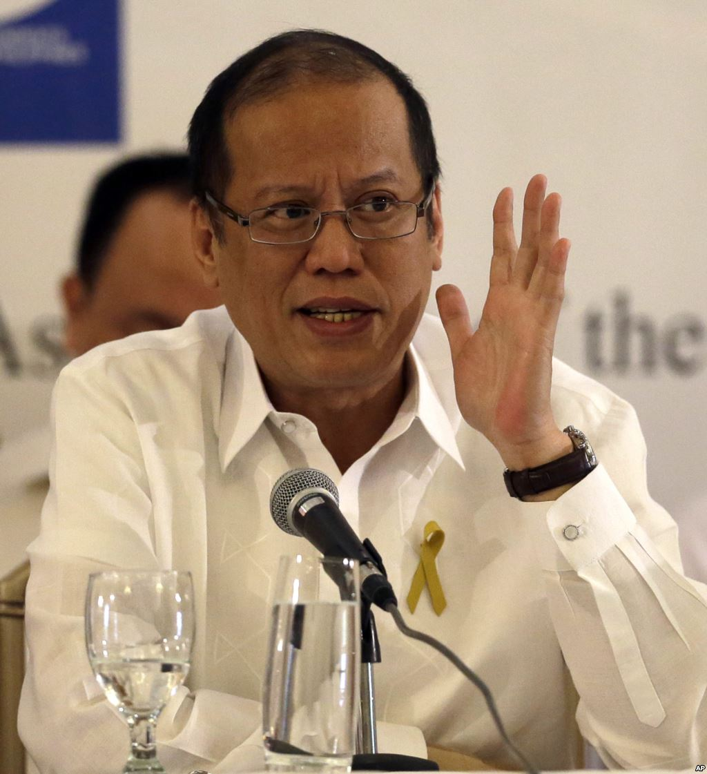 "President Benigno Aquino III offered an apology for the ""unintended loss of life"" of the Taiwanese fisherman.  (Source: VOA)"
