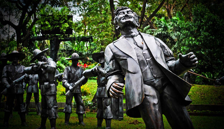 DioramaofRizal'sMartyrdom,RizalPark,Manila