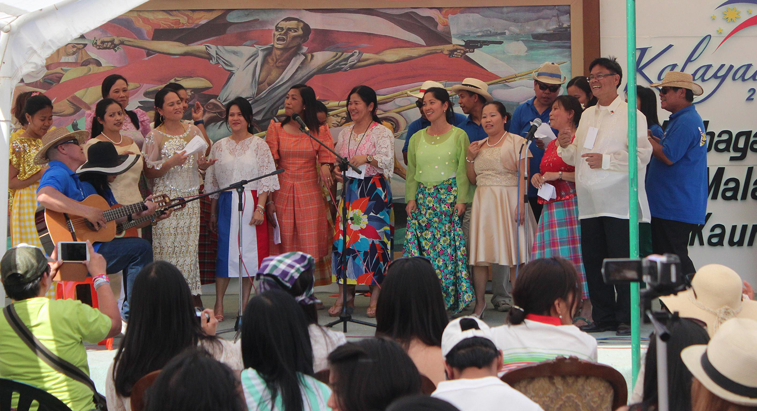 The Filipino community in Greece celebrated the 115th Anniversary of Philippine Independence last June 23, 2013 at the Fokianos National Gymnasium in Zappieo, Athens.   (Source: www.philembathens.gr)